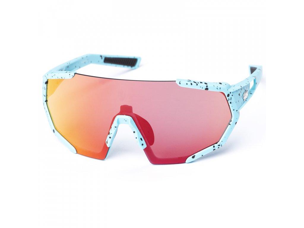 78323 pitcha space r sunglasses blue spot yellow
