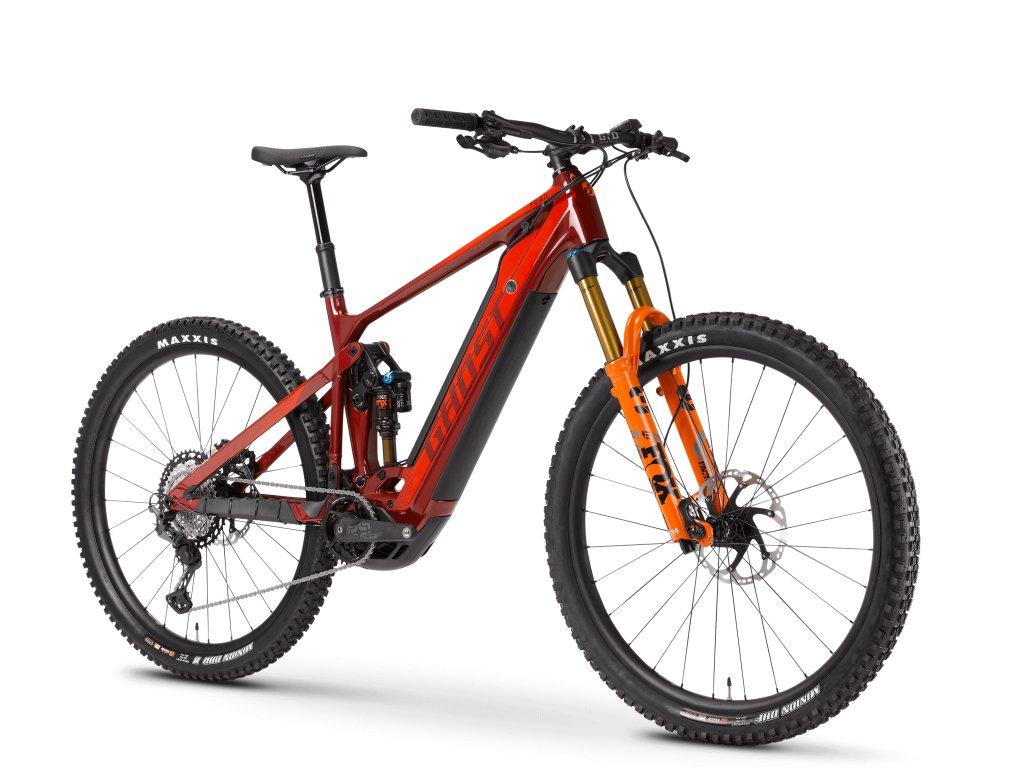 ghost bikes e riot trail pro darkred orange 45