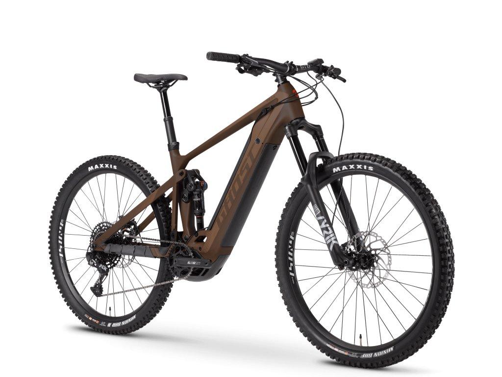 ghost bikes e riot trail advanced chocolate brown 45