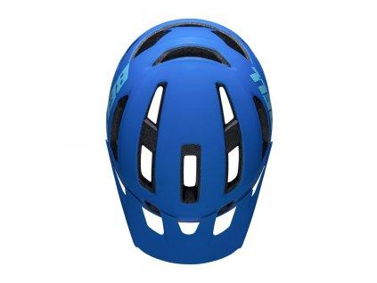 cyklisticka helma bell nomad matna modro cerna 91798