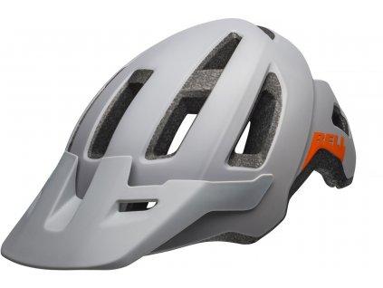 Přilba BELL Nomad Mat White/orange