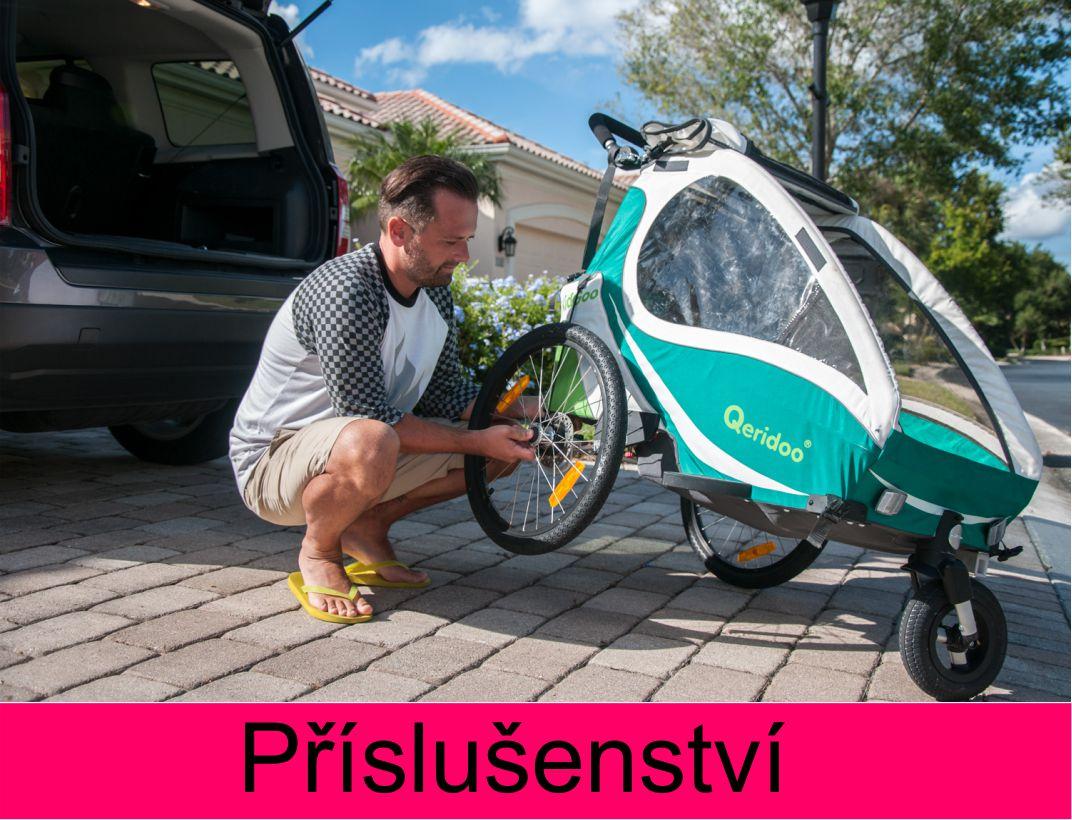 Příslušenství k vozíkům za kolo