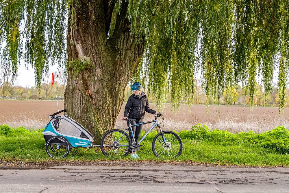 Vozík Qeridoo za kolo