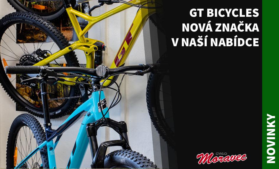 GT Bicycles - nová značka v naší nabídce