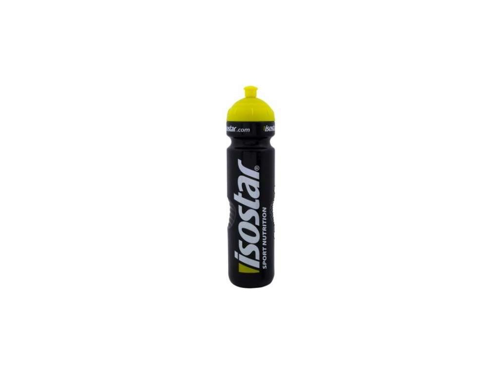 Cyklistická lahev ISOSTAR černá 1 l
