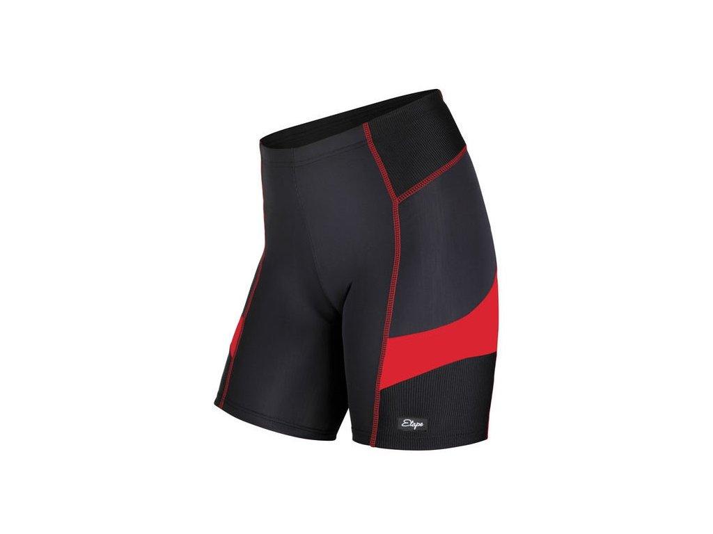 Cyklistické kraťasy ETAPE TERRY černo/červené