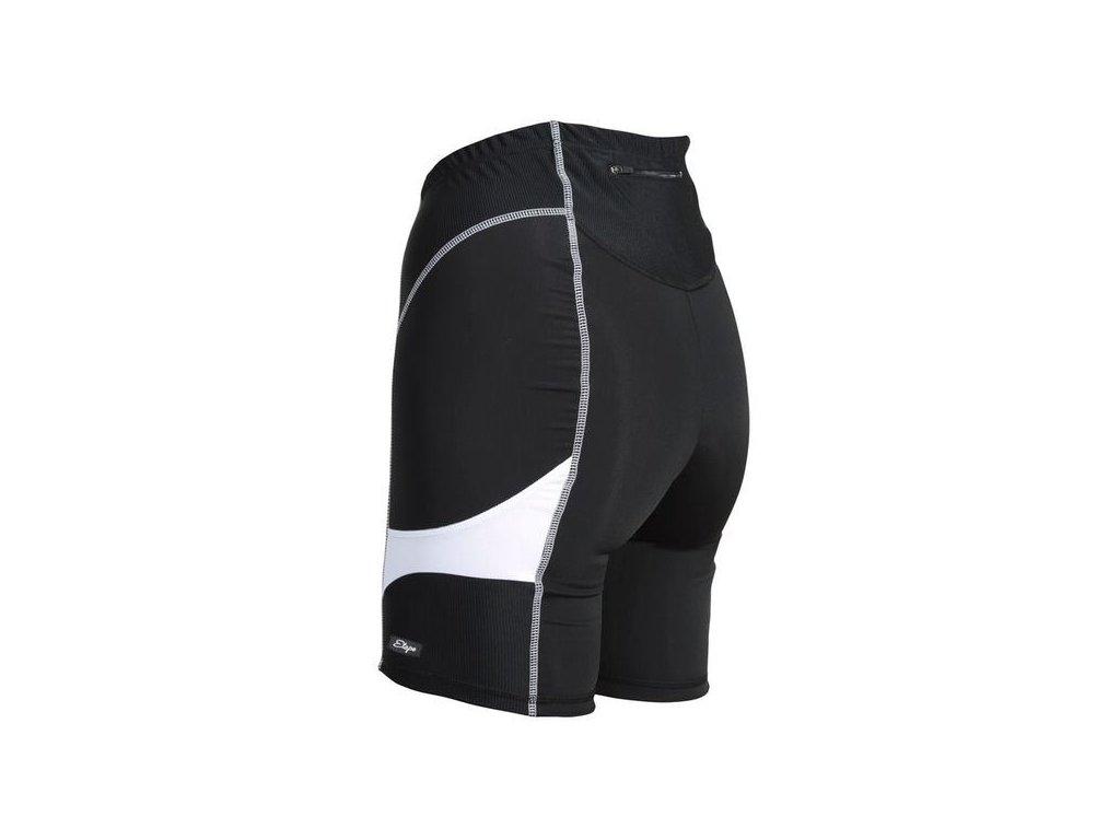 Cyklistické kraťasy ETAPE TERRY černo/bílé