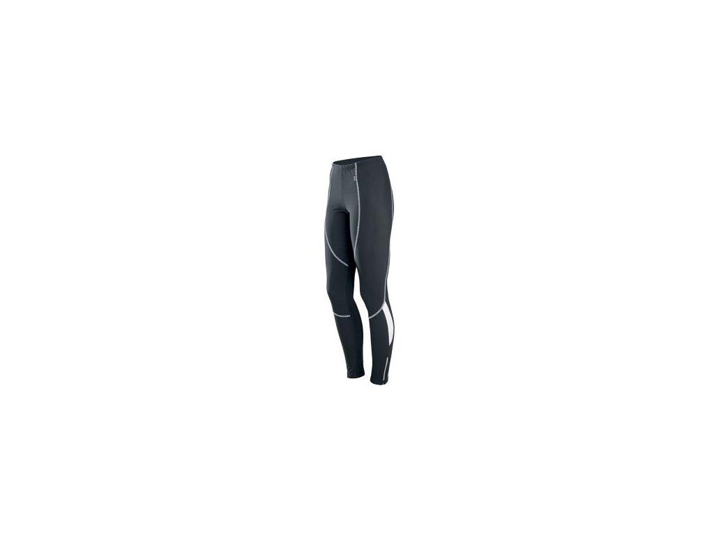 Cyklistické kalhoty dlouhé ETAPE BRAVA pas černo/bílé