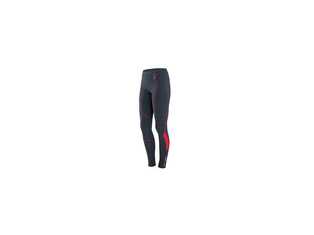 Cyklistické kalhoty dlouhé ETAPE BRAVA WS pas černo/červené