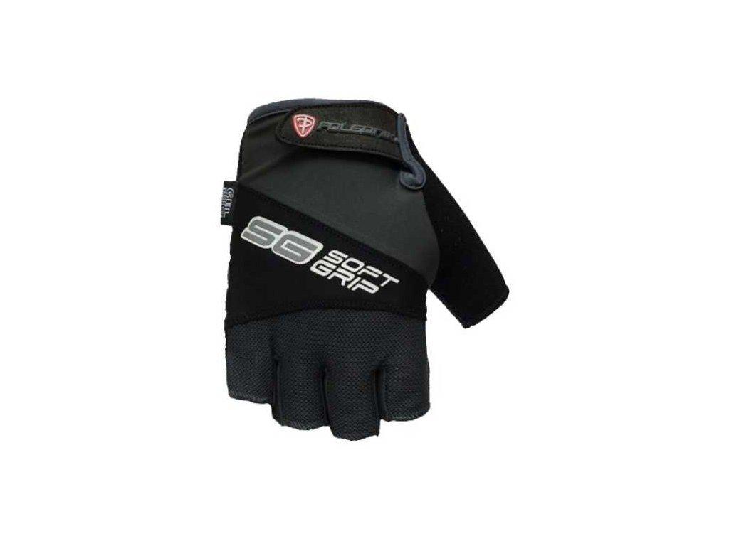 Cyklo rukavice POLEDNIK SOFT GRIP new černé