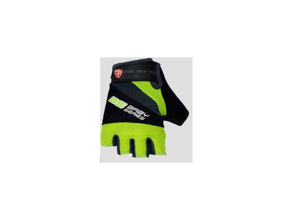 Cyklo rukavice POLEDNIK BS zelené