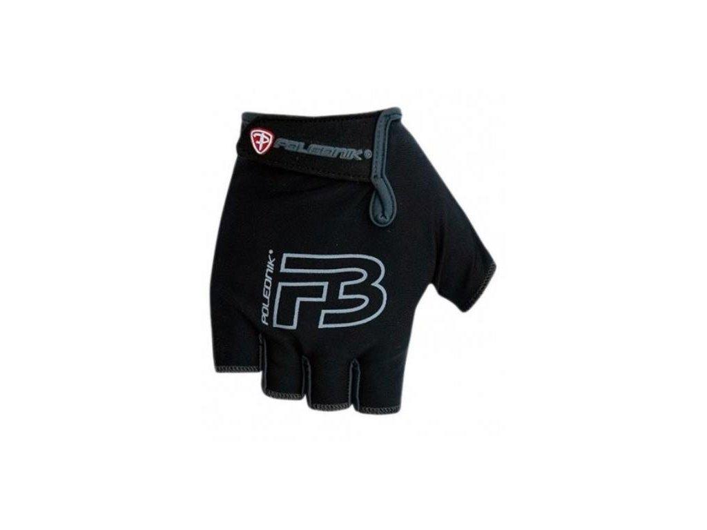 Cyklo rukavice dětské POLEDNIK F3  černé