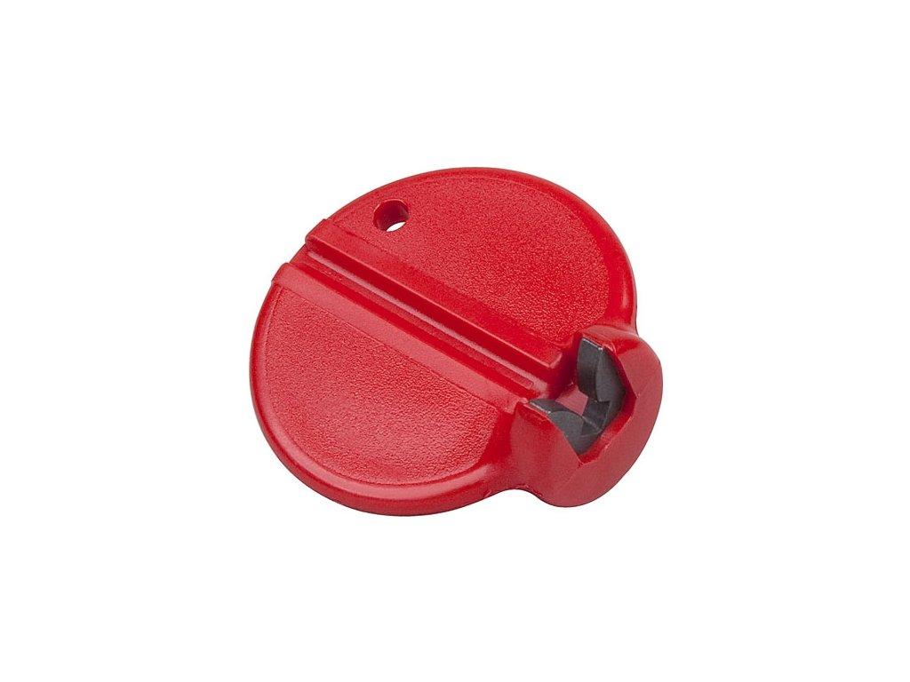 KLÍČ CENTROVACÍ NA NIPL 3.25mm červený