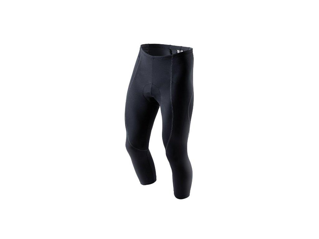 KALAS 3/4 kalhoty BASIC LYCRA černé + SEDLO,KALAS 3/4 kalhoty BASIC LYCRA černé + SEDLO