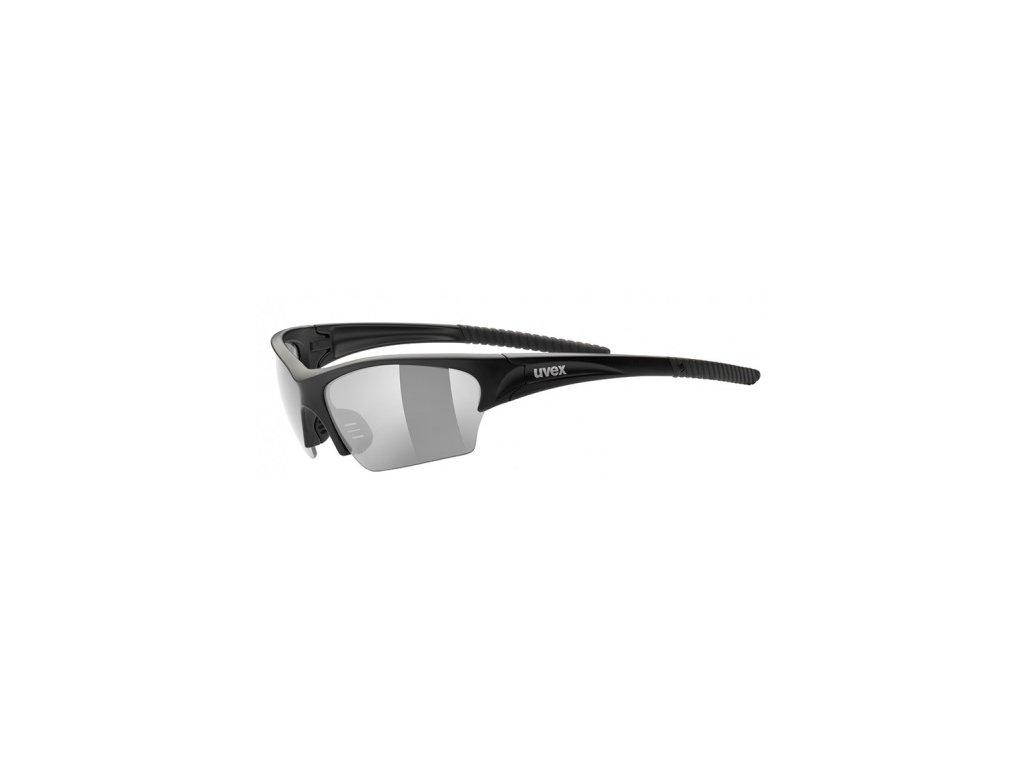 Brýle UVEX SUNSATION black mat/smoke