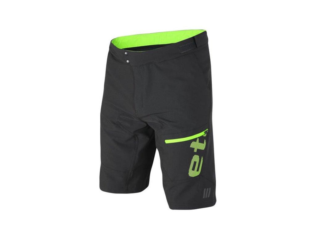 Etape - pánské volné kalhoty FREERIDE, černá/zelená,Etape - pánské volné kalhoty FREERIDE, černá/zelená,Etape - pánské volné kalhoty FREERIDE, černá/zelená