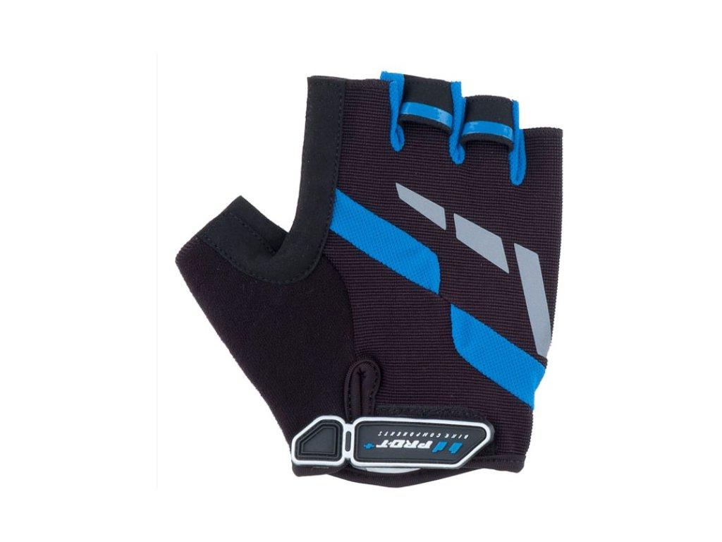 Cyklo rukavice PRO-T Plus Veneto černo-modrá