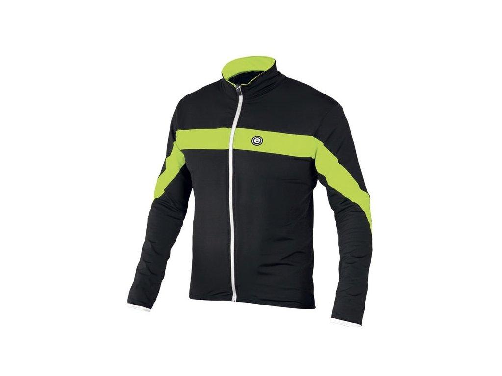 Etape - pánský dres COMFORT, černá/limeta