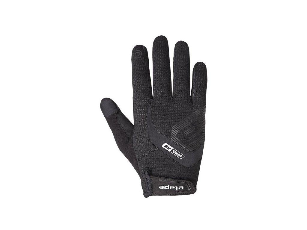 Etape - rukavice FOX+, černá,Etape - rukavice FOX+, černá