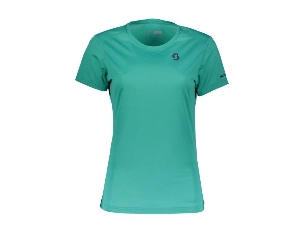 Dámské triko SCOTT Trail MTN Aero kr. rukáv baltic turquoise,Dámské triko SCOTT Trail MTN Aero kr. rukáv baltic turquoise