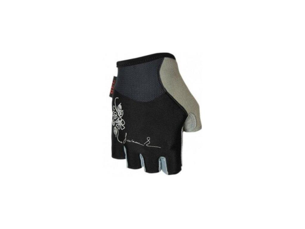 Cyklo rukavice POLEDNIK CHLORIS černé