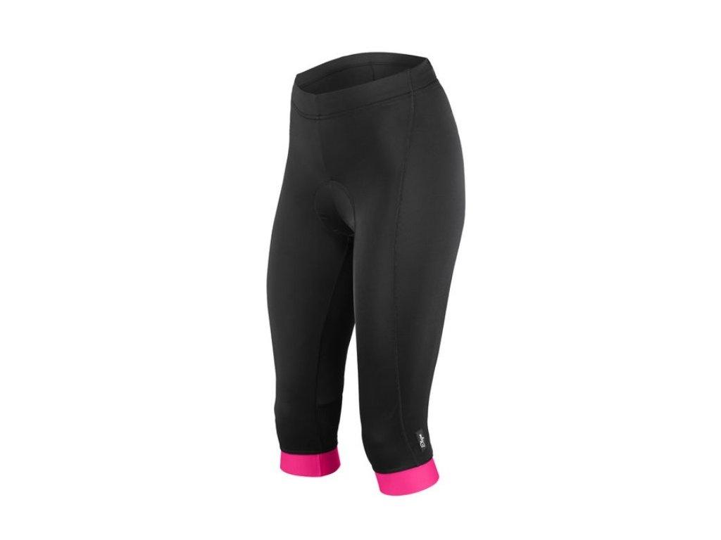 Etape - dámské kalhoty NATTY 3/4 s vložkou černá/růžová,Etape - dámské kalhoty NATTY 3/4 s vložkou černá/růžová,Etape - dámské kalhoty NATTY 3/4 s vložkou černá/růžová