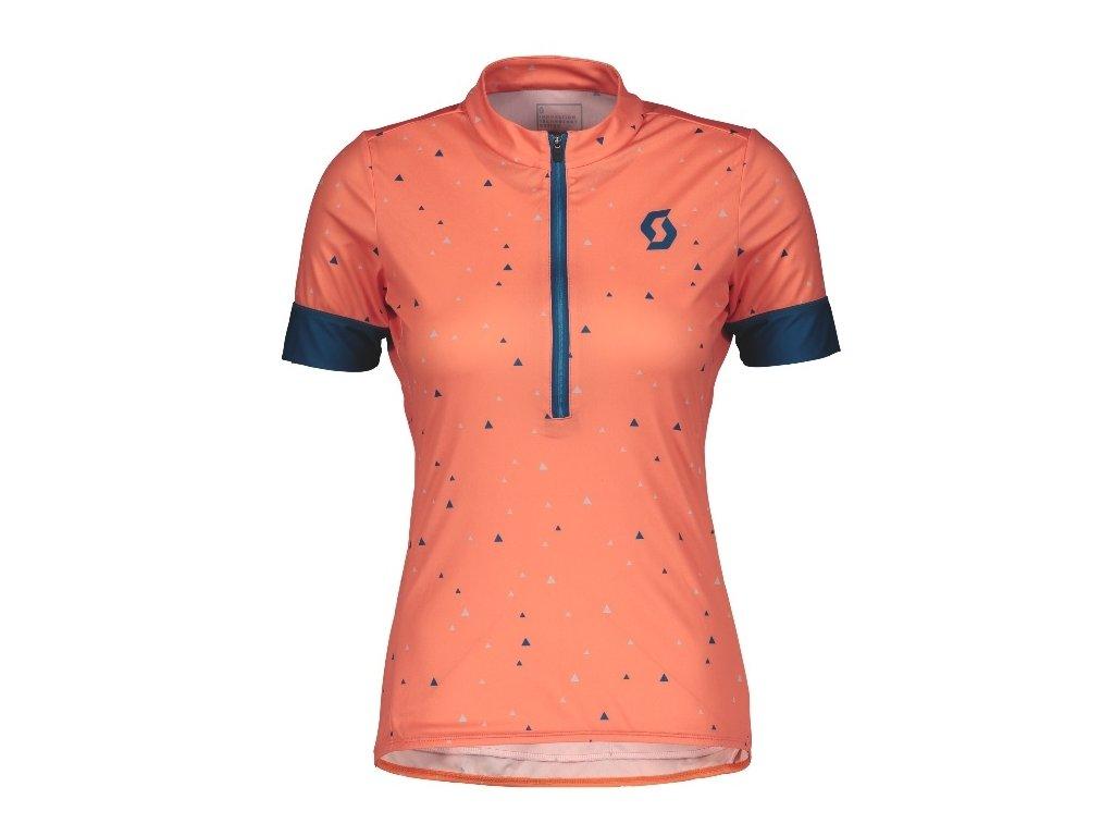 Dámský dres SCOTT Endurance 20 pink/blue,Dámský dres SCOTT Endurance 20 pink/blue