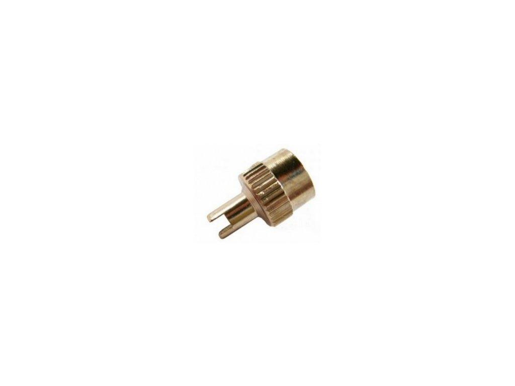 Čepička ventilková kovová