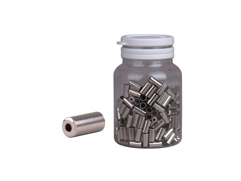 Koncovka bowdenu 5mm stříbrná CNC
