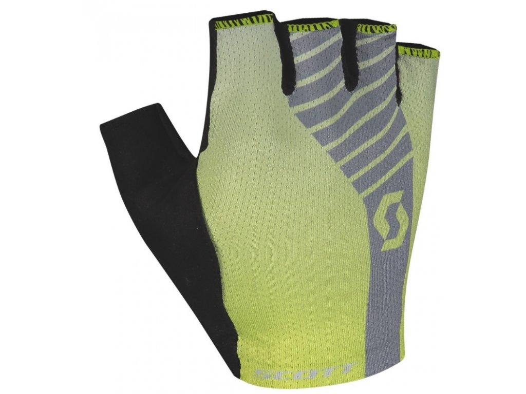 Rukavice SCOTT Aspect  Gel SF sulphur yellow/light grey