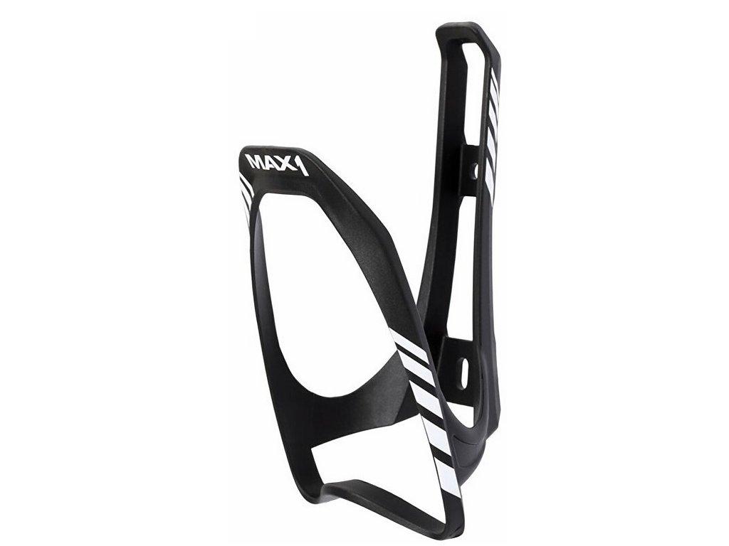 Košík na láhev MAX1 Evo bílo/černý