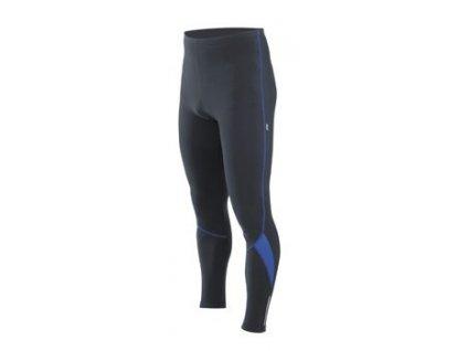 Cyklistické kalhoty dlouhé ETAPE RUNNER pas černo/modré