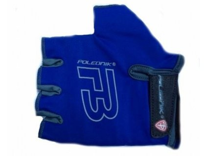 Cyklo rukavice POLEDNIK F3 modré II