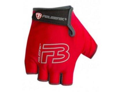 Cyklo rukavice dětské POLEDNIK F3 II červené