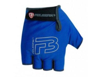 Cyklo rukavice dětské POLEDNIK F3 II modré