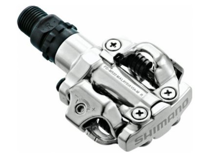Pedály SHIMANO SPD PD-M520 silver