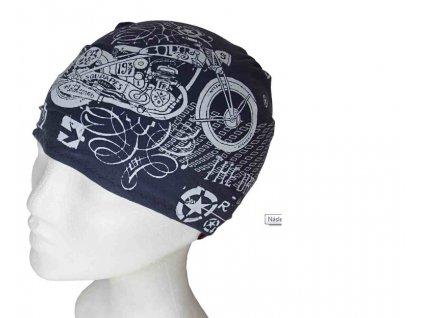 Redy tvarovaný šátek INFIT tmavě modrá Motokolo