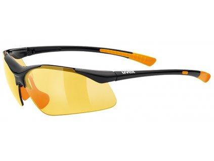 Brýle UVEX SPORTSTYLE 223 black/orange