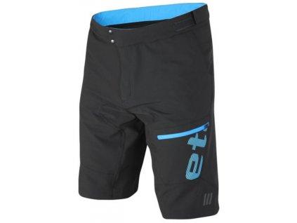 Etape - pánské volné kalhoty FREERIDE, černá/modrá,Etape - pánské volné kalhoty FREERIDE, černá/modrá,Etape - pánské volné kalhoty FREERIDE, černá/modrá