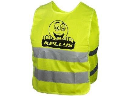 Dětská reflexní vesta KELLYS STARLIGHT smile