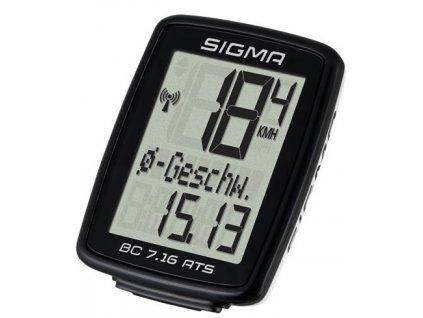 Cyklopočítač  SIGMA BC 7.16 ATS