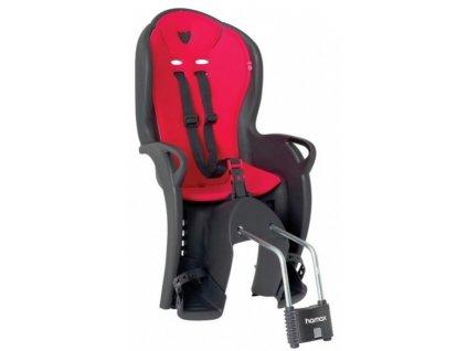 Dětská sedačka HAMAX KISS černo/červená