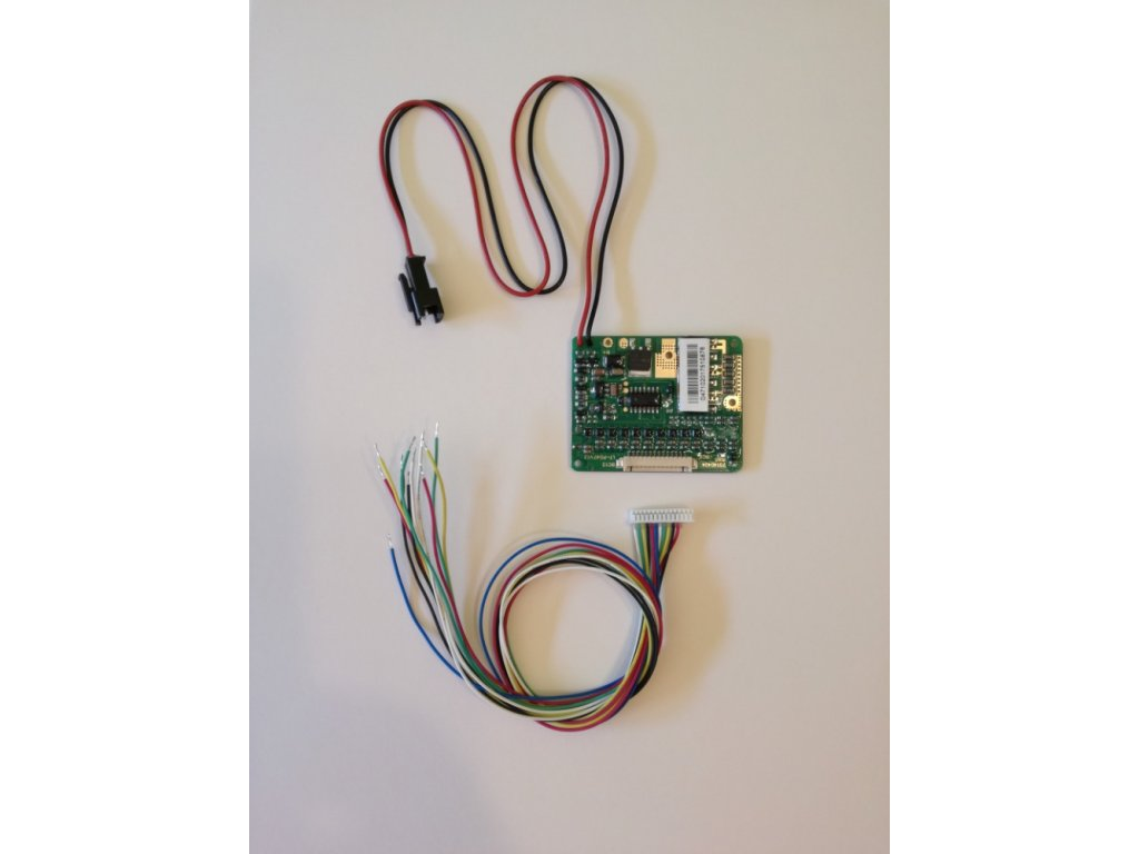 Komponenty k elektrokolům Řidící jednotka BMS 24V skladem u CykloNovák.cz