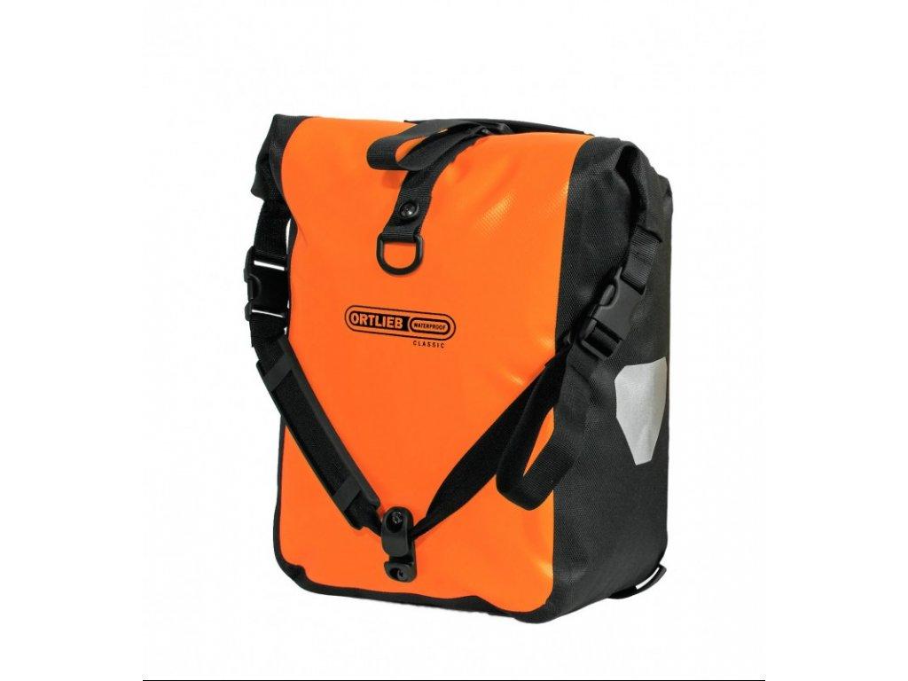 ORTLIEB Sport-Roller Classic - oranžová / černá - QL2.1 - 25 L - pár