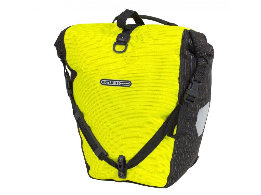 ORTLIEB Back-Roller High Visibility - reflexní žlutá / reflexní černá - QL2.1 - 20 L - kus