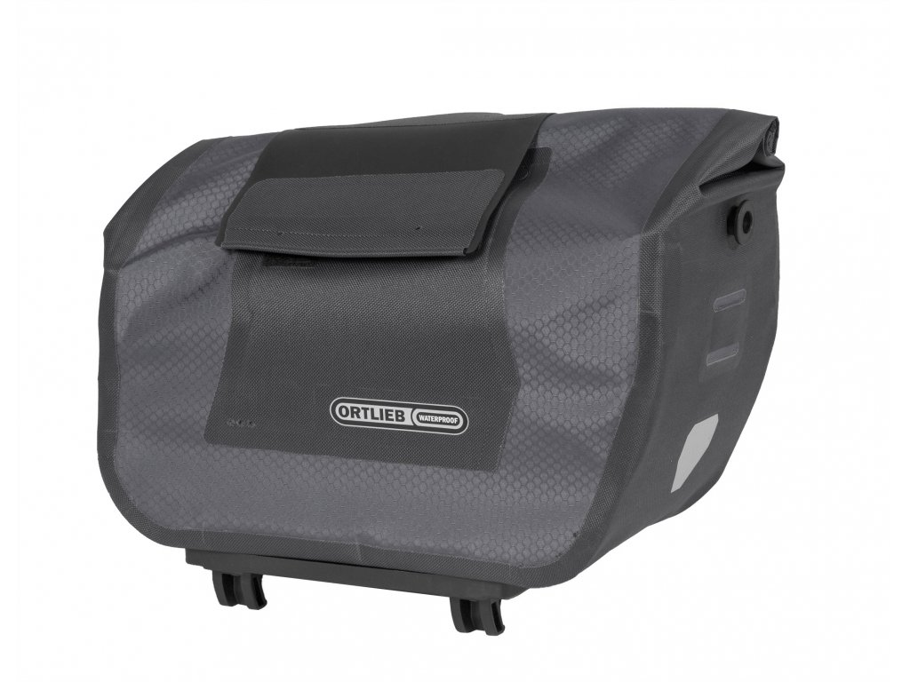 ORTLIEB Trunk Bag RC - černá / tmavě šedá - Rack-Lock - 12 L