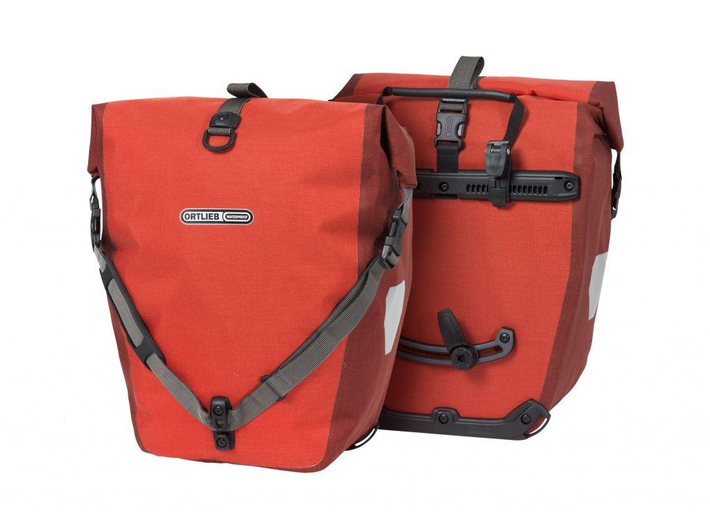 ORTLIEB Back-Roller Plus - červená / tmavě červená - QL2.1 - 40 L - pár