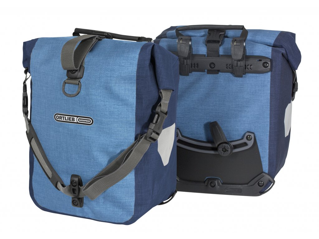 ORTLIEB Sport-Roller Plus - světle modrá / modrá - QL2.1 - 25 L - pár