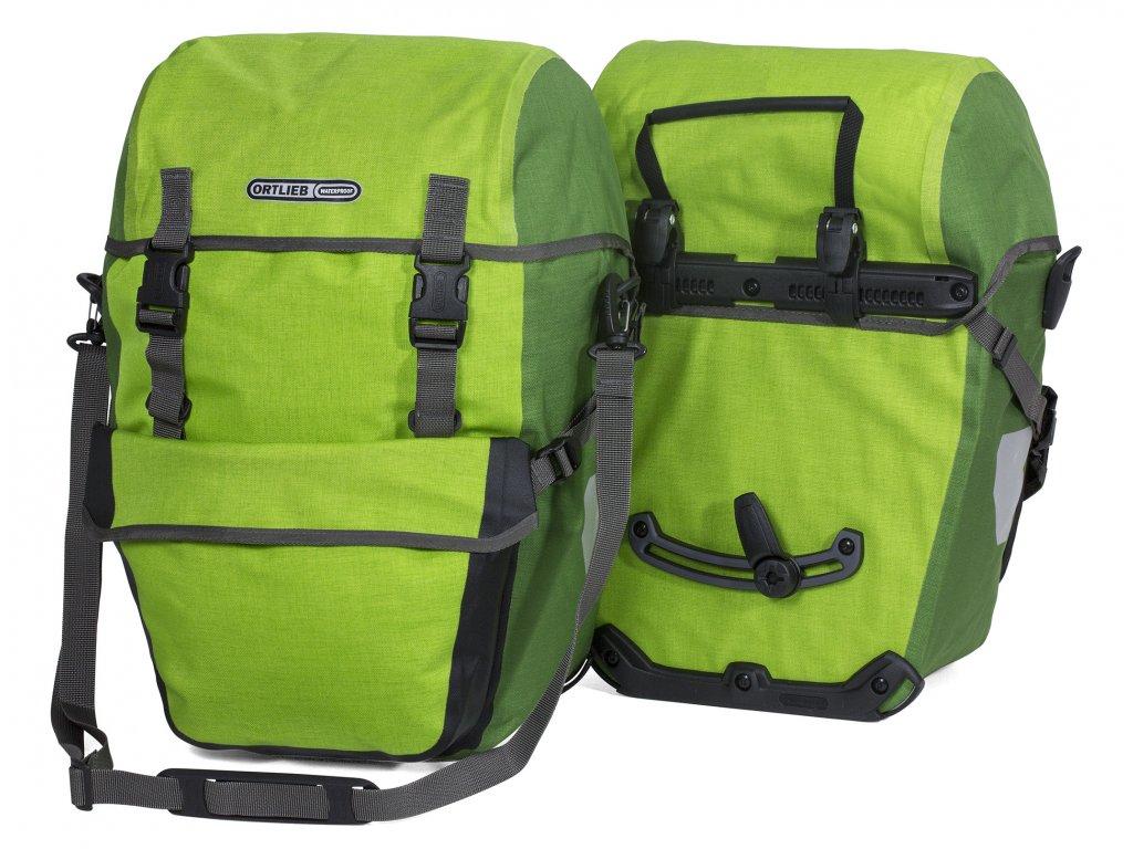 ORTLIEB Bike-Packer Plus - světle zelená / zelená - QL2.1 - 42 L - pár
