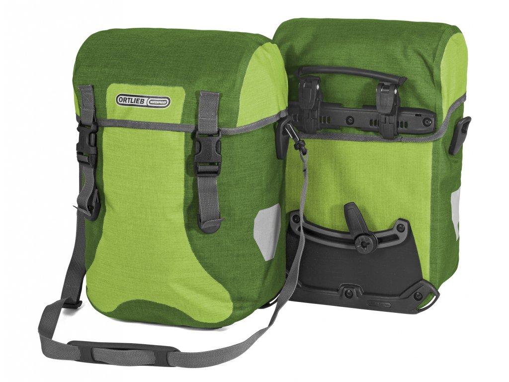 ORTLIEB Sport-Packer Plus - světle zelená / zelená - QL2.1 - 30 L - pár